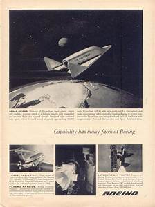 How Boeing company advertised space exploration and ...
