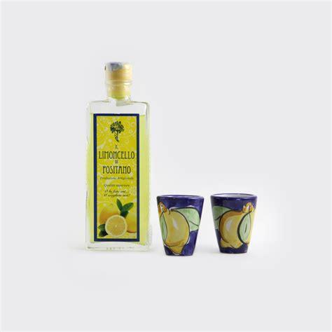 Bicchieri Per Limoncello by Scatola Regalo Limoncello Con Bicchieri Sapori E Profumi