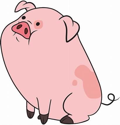 Waddles Gravity Falls Cartoons Pig Gifs Coloring