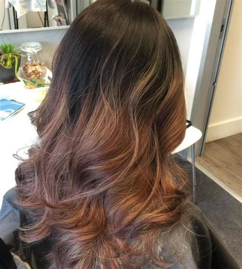 reverse ombre hair color ideas