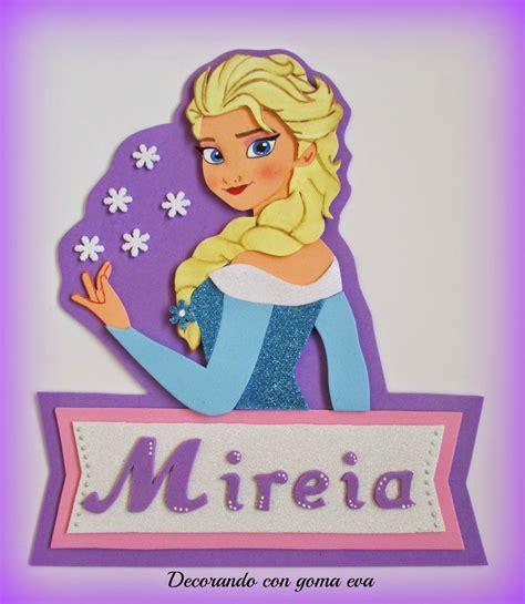 Cartel de Elsa de Frozen en tonos lila Aprender
