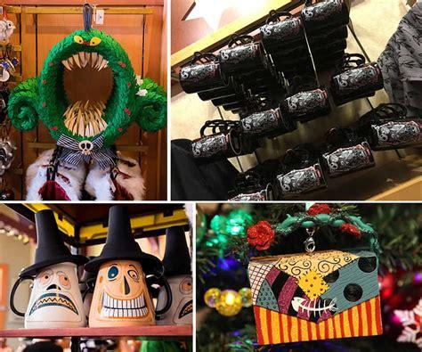 tim burtons  nightmare  christmas merchandise