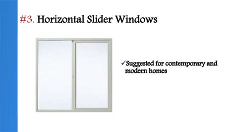 window glass operating styles