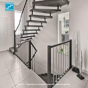 Geländer Für Treppe : kenngott treppe verdi stufen schieferline longlife r9 ~ Michelbontemps.com Haus und Dekorationen