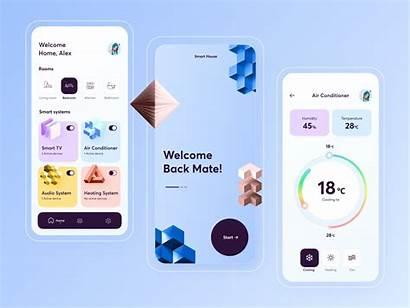 App Ui Inspiration Smart Ios Mobile Dribbble
