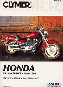 1995 To 2004 Honda Vt1100 Shadow Motorcycle Service Manual
