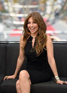Singer Thalia Loves Her New Pink Hair | PEOPLE.com
