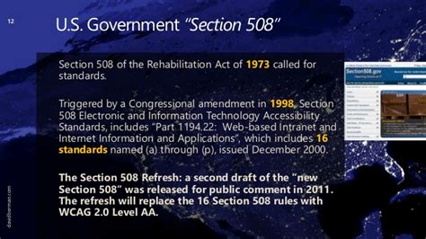 section 508 of the rehabilitation act 11 189 free tools for testing website accessibility