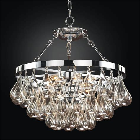 Chandeliers Glass by Blown Glass Chandelier Concorde 615 Glow 174 Lighting