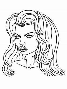 Dessin Halloween Vampire : vampires 4 coloriages de vampires twilight dracula coloriages pour enfants ~ Carolinahurricanesstore.com Idées de Décoration