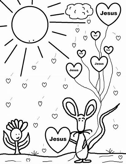 Coloring Pages Printable Valentines Valentine