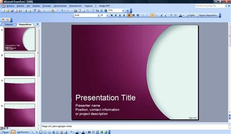 workshop powerpoint template