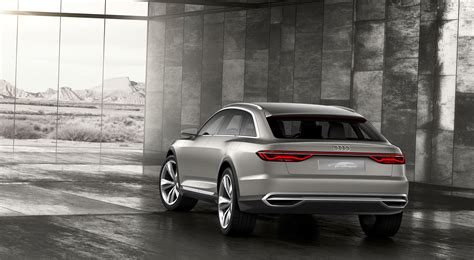Audi Prologue Allroad Concept Car Body Design