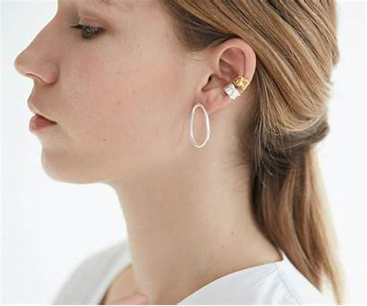Cuff Ear Organic Earrings Earring Link Simple
