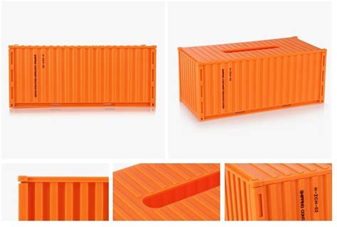diy shipping container style tissue box feelgift