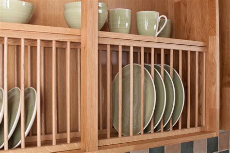 kitchen cabinet plate rack storage solid wood oak plate rack wood kitchen plate racks 7900