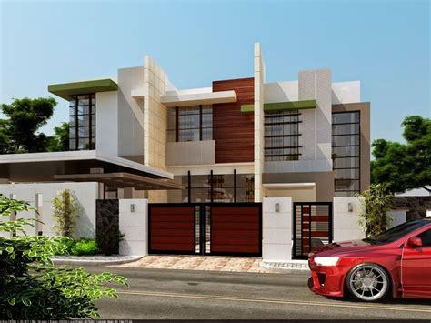 contoh rumah minimalis  lantai desain fasad rumah