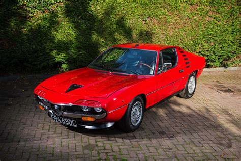 Red Hot 1972 Alfa Romeo Montreal Is Heading To Auction
