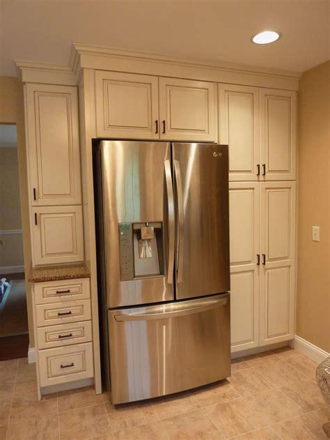 kitchenikea sektion cabinets refrigerator side panels