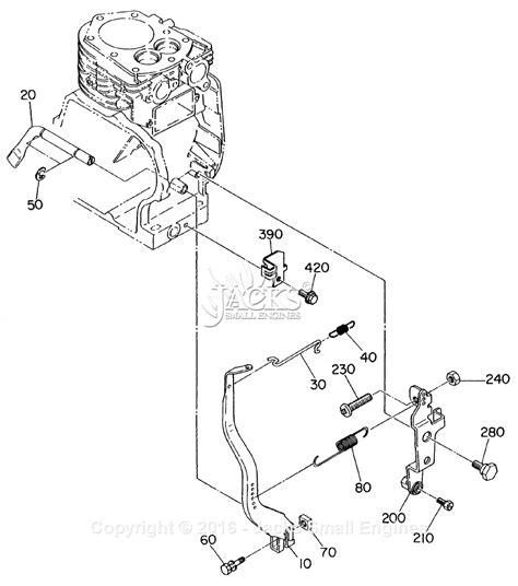 robinsubaru ey parts diagram  remote cable control