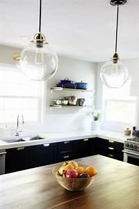 pendant lights kitchen It's Done! : The Full Kitchen Reveal - Chris Loves Julia