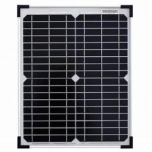 Panneau Solaire Avis : panneau solaire 20w monocristallin 51 90 panneaux ~ Dallasstarsshop.com Idées de Décoration