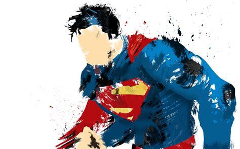 superman man  steel painted wallpaper digitalartio