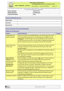 cl   hytorc spanner checklist template