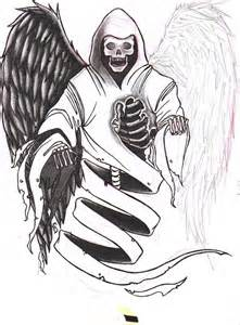 Death Tattoo Designs Drawings
