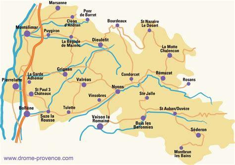 chambres d hotes vaucluse carte de la drôme provençale