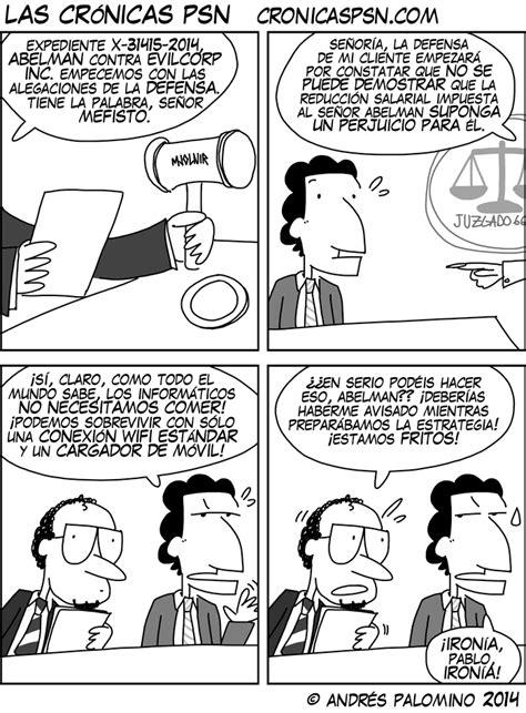 CRÓNICAS PSN – Tira cómica friki - CPSN: EL PROCESO (2)