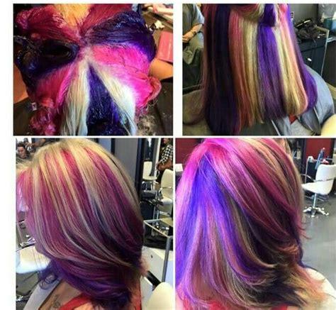 Hair Coloring by K 233 Ptal 225 Lat A K 246 Vetkezőre Pinwheel Hair Color Technique