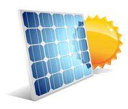 panneau solaire avec le soleil illustration de vecteur image 25390490