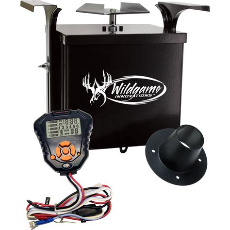 wildgame innovations feeder timer wildgame innovations 6v digital power unit th 6vdx b h