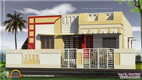 Small South Indian Home Design Kerala Floor Plans  Tierra