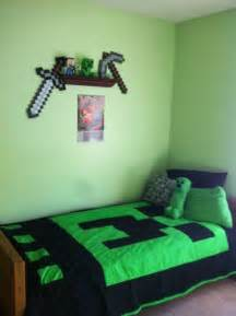Minecraft Twin Bed Set chambre minecraft