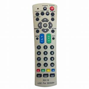 New Generic Universal Sharp Sharp Tv Remote Fit For Almost