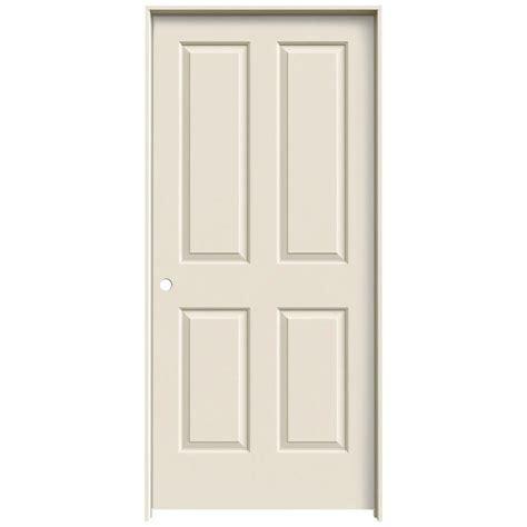 hollow interior doors home depot jeld wen 36 in x 80 in molded smooth 4 panel primed