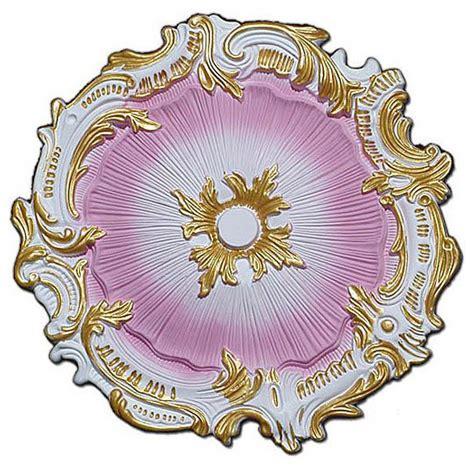 hand painted   starburst ceiling medallion