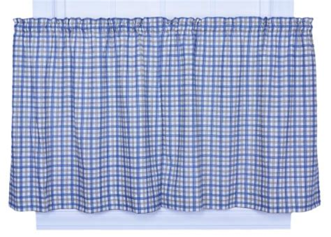 Ellis Curtain Bristol Collection Two-tone Plaid 68 By 36-inch Tailored Tier Curtain Call Wiki Toronto Store Aquarium Shower Organic Curtains Up Theater Croscill Penelope Modern Living Room Ideas Make Lined