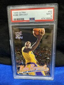 Find out which are with so many great ones to choose from, how can you pick just one favorite kobe bryant rookie card? 1996 Fleer Ultra #52 Kobe Bryant Rookie Card PSA 9 HOF 🔥🔥 ...
