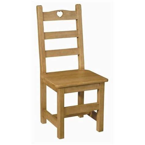 chaise coeur en pin assise bois achat vente chaise mati 232 re de la structure bois massif