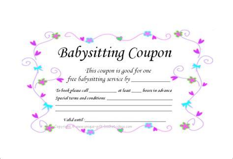 homemade coupon templates    format