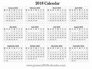 2018 printable word calendar template printable With is there a calendar template in word