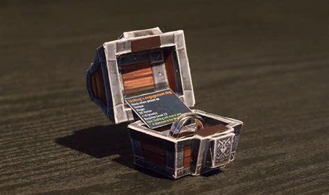 une proposition en mariage en papercraft warcraft people