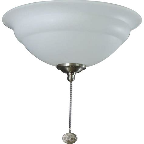 3 light ceiling fan light kit hton bay 3 light universal ceiling fan light kit with