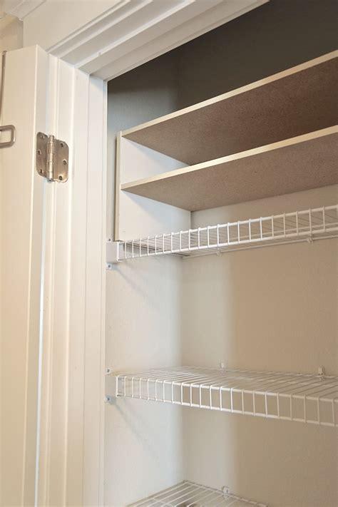 Linen Closet Shelving Systems by Linen Closet Organizing Create More Storage