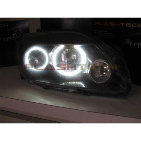 scion tc white led halo headlight kit 2008 2010