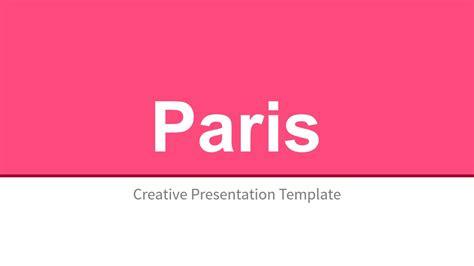Paris Powerpoint Template Costumepartyrun