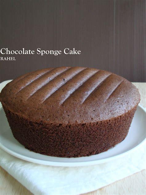 rahel blogspot kek span coklat